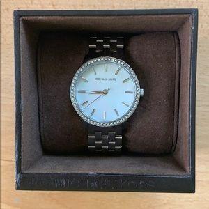 Michael Kors Silver Rhinestone Watch